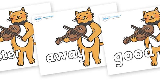 Next 200 Common Words on Cat and Fiddle - Next 200 Common Words on  - DfES Letters and Sounds, Letters and Sounds, Letters and sounds words, Common words, 200 common words