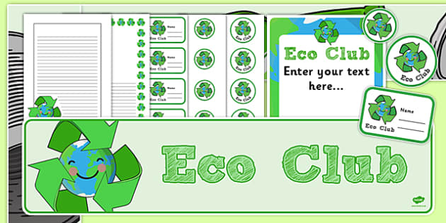 Eco Club Resource Pack - eco club, extracurricular, club, resource pack