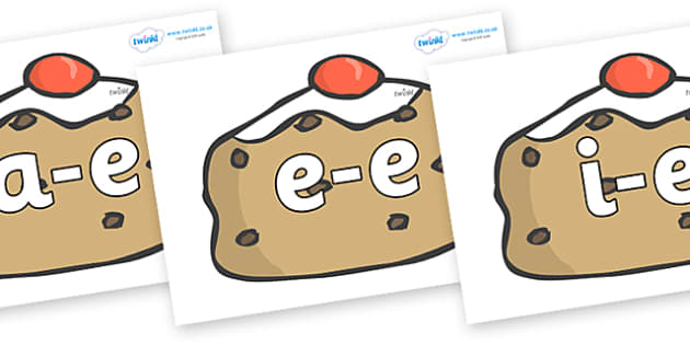 Modifying E Letters on Currant Buns - Modifying E, letters, modify, Phase 5, Phase five, alternative spellings for phonemes, DfES letters and Sounds