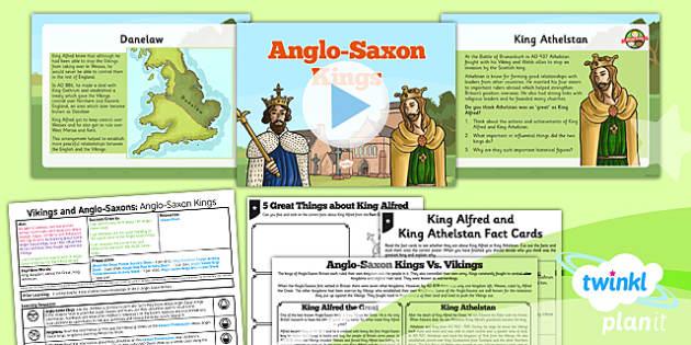 PlanIt History LKS2 Vikings Anglo-Saxons Lesson 2 Anglo-Saxon Kings