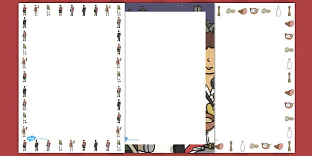 Stone Soup Page Borders - stone soup, page borders, page, borders