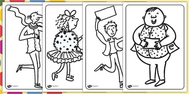 Colouring Pages to Support Teaching on Charlie and the Chocolate Factory - Charlie and the chocolate factory, charlie and the chocolate factory colouring pages, roald dahl
