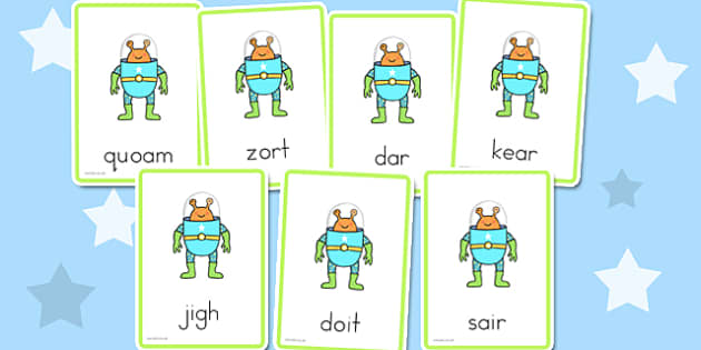Letters and Sounds Phase 3 Nonsense Words - australia, letters