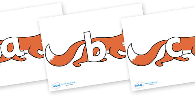 Phoneme Set on Hullabaloo Fox to Support Teaching on Farmyard Hullabaloo - Phoneme set, phonemes, phoneme, Letters and Sounds, DfES, display, Phase 1, Phase 2, Phase 3, Phase 5, Foundation, Literacy