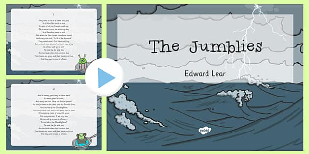 The Jumblies Edward Lear Poem PowerPoint -poetry, literature, key stage 2, KS2, English, Key Stage 3, KS3