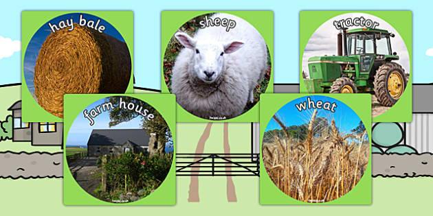 Farm Display Photo Cut Outs - farm, display photos, cut outs