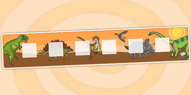 Dinosaur Theme Visual Timetable Display - education, home school, visual timetable, dinosaur, free, kids