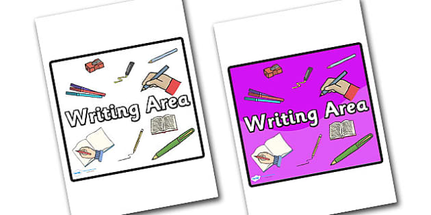 Writing Area Sign - sign, display sign, area display sign, area sign, writing area, writing display sign, writing sign, writing area display poster, area, classroom areas, school areas, classroom area signs, topic signs, topic area signs