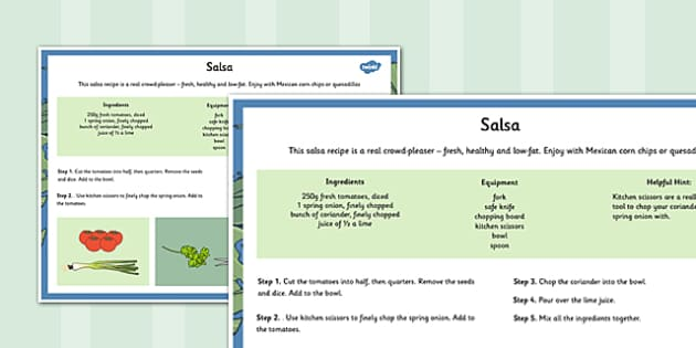 Global Food Salsa Recipe - global food, recipe, global, food, salsa