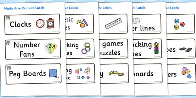Elephant Themed Editable Maths Area Resource Labels - Themed maths resource labels, maths area resources, Label template, Resource Label, Name Labels, Editable Labels, Drawer Labels, KS1 Labels, Foundation Labels, Foundation Stage Labels, Teaching La