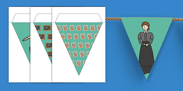 Victorians Themed Display Bunting - victorians, themed, display, bunting, display bunting