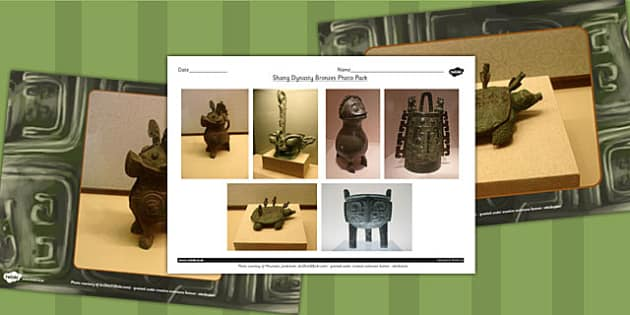 Shang Dynasty Bronzes Photo Pack - Photo, Shang, Dynasty, China