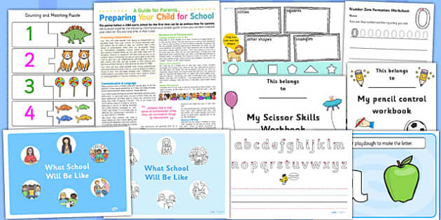 School Preparation Pack for Childminders - school preparation, childminders