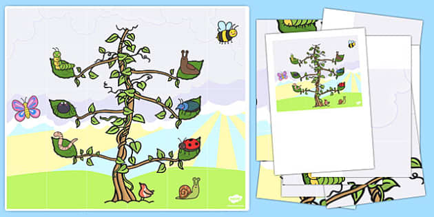 Beanstalk Bee Bot Mat - EYFS, KS1, ICT, computing, Jasper's Beanstalk, Jack and the Beanstalk, plants and growth