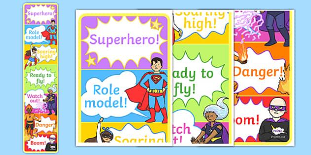 Superhero Themed Behaviour Reward Chart - superhero, behaviour, reward chart