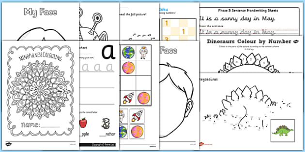 KS1 Time Out Pack - ks1, time out, pack, time, out, calm down, calm, de-stress