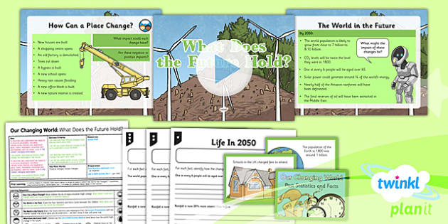 PlanIt - Geography Year 6 - Our Changing World Lesson 6: What Does the Future Hold? Lesson Pack - geography, coast, physical, human, changes
