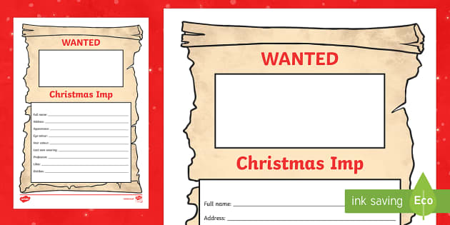 The Christmas Imp Differentiated Wanted Poster - The Christmas Imp, the grinch,thegrinch who stole christmas, christmas, green, imp
