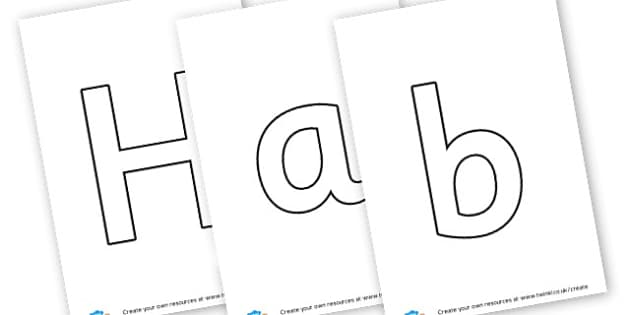 Habitat - Display Lettering - KS2 Science, Habitats, Display, Resources, Environments, Animals