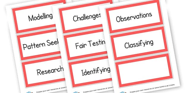 Science - Science & Investigation Literacy Primary Resources -  Primary Res