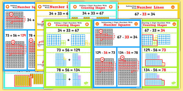Year 2 Adding and Subtracting 2 2 Digit Numbers and Tens