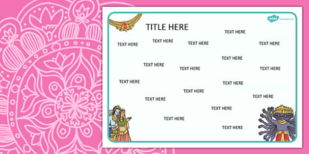 Diwali Diwali Themed Editable Word Mat - literacy, words, mats