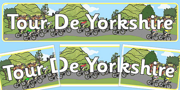 Tour de Yorkshire Display Banner - display, banner, yorkshire