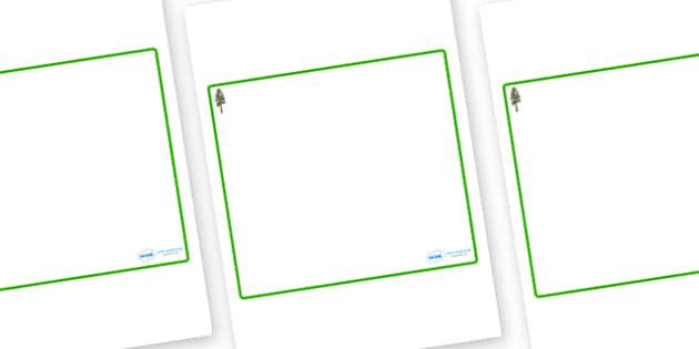 Pine Tree Themed Editable Classroom Area Display Sign - Themed Classroom Area Signs, KS1, Banner, Foundation Stage Area Signs, Classroom labels, Area labels, Area Signs, Classroom Areas, Poster, Display, Areas
