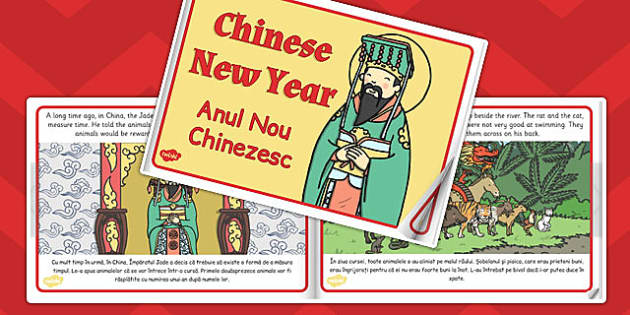 Chinese New Year Story eBook EAL Romanian Translation - stories