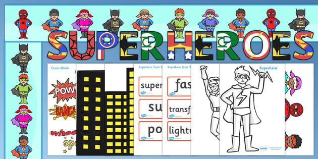 Ready Made Superheroes Display Pack - ready made, superhero, pack