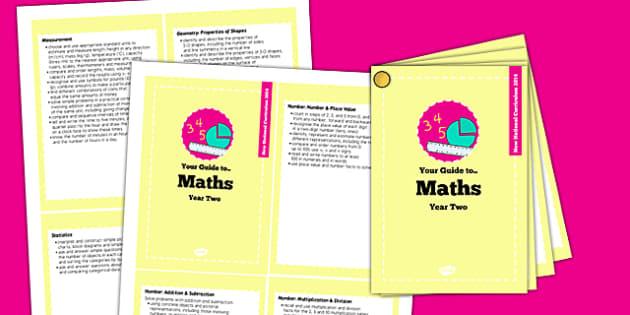 2014 Curriculum Cards Year 2 Maths - new curriculum, plans, card