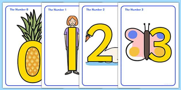 Number Shapes Posters - number shapes, shapes, numbers