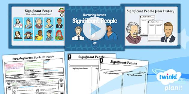 PlanIt - History KS1 - Nurturing Nurses Lesson 1: Significant People Lesson Pack