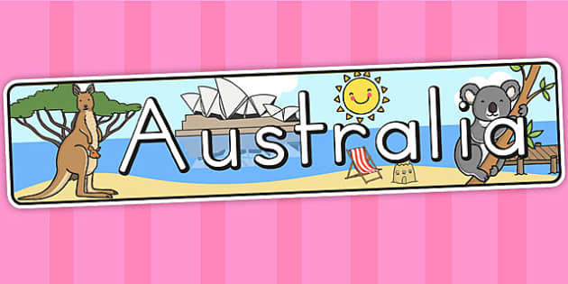 Australia Display Banner - australia, banner, display banner