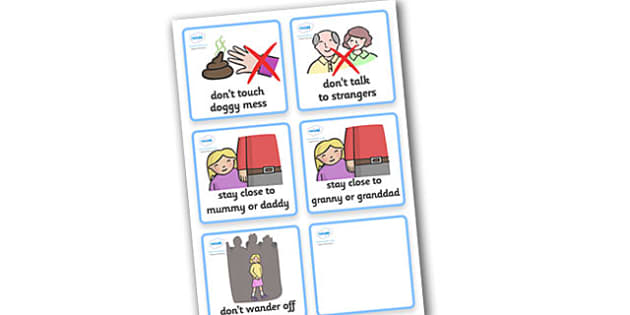 SEN Communication Cards Hazards (Girl) - SEN, communication cards, hazards, my environment, Visual Timetable, SEN, Daily Timetable, girls, School Day, Daily Activities, Daily Routine KS1