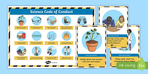 Science Safety Display Posters