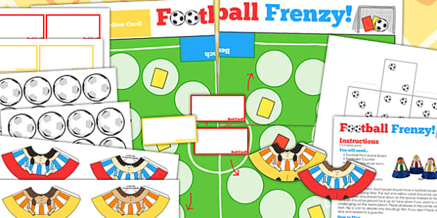 Football Cone People Editable Board Game - foot ball, world cup