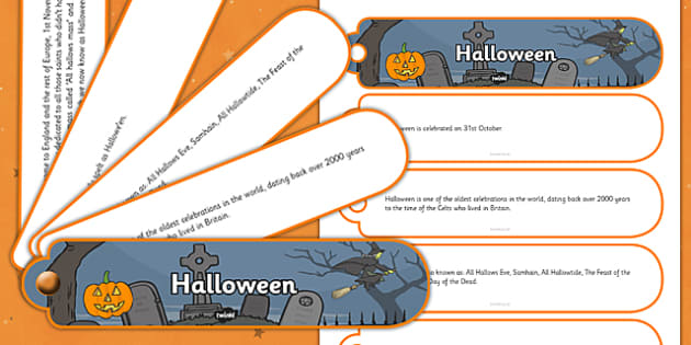Halloween Facts Fan Book - halloween, facts, fan book, fan, book