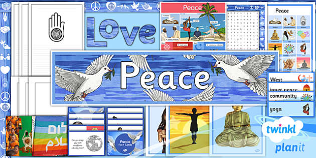 PlanIt - RE Year 5 - Peace Unit Additional Resources - planit, religious education, re, year 5, peace, additional resources