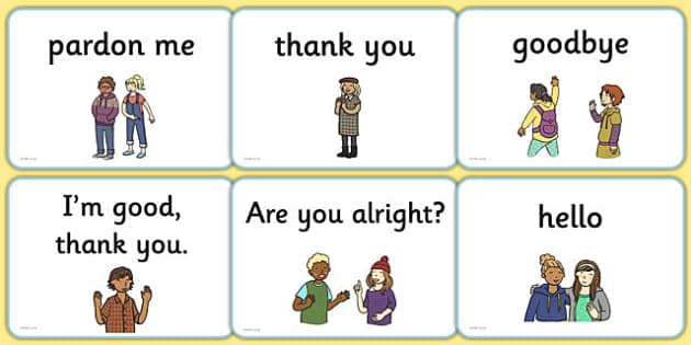 Greetings A5 Flashcards English - english, greetings flashcards, flash cards, greetings