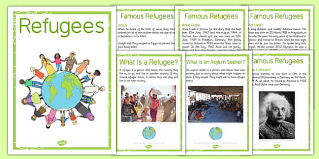Refugees Poster Pack - refugees, poster, pack, display, new home, syria