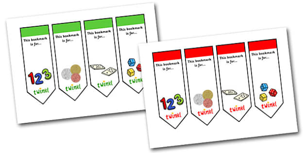Editable Numeracy Bookmark - Bookmark, numeracy,  gift,  present, book, reward, achievement