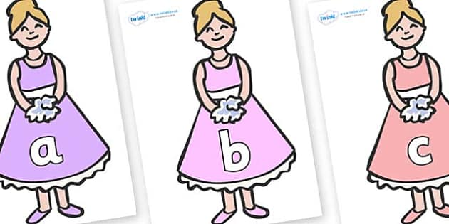 Phase 2 Phonemes on Bridesmaids - Phonemes, phoneme, Phase 2, Phase two, Foundation, Literacy, Letters and Sounds, DfES, display