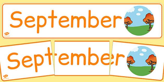 September Display Banner German - german, september, display banner, display, banner