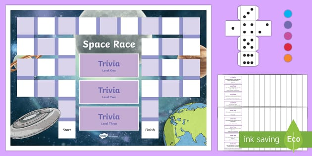 CfE Space Board Game-Scottish - CfE, Science games, space games, science board games, space facts, science facts, group games.,Scott