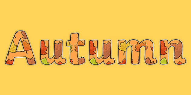 Image result for autumn 2016 lettering