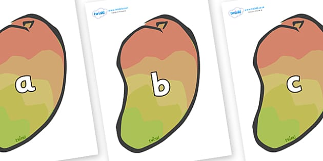 Phase 2 Phonemes on Mangoes - Phonemes, phoneme, Phase 2, Phase two, Foundation, Literacy, Letters and Sounds, DfES, display