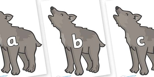 Phase 2 Phonemes on Wolf Cubs - Phonemes, phoneme, Phase 2, Phase two, Foundation, Literacy, Letters and Sounds, DfES, display
