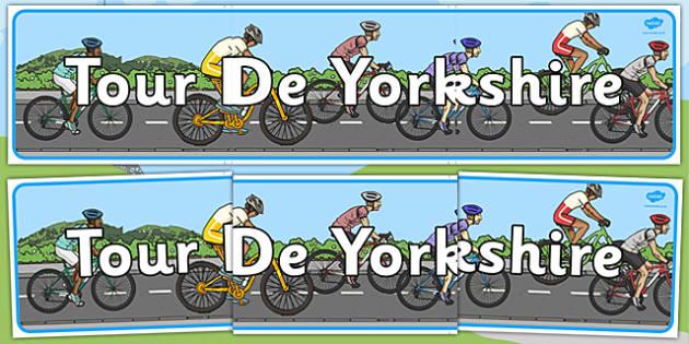 Tour de Yorkshire 2016 Display Banner - tour de yorkshire, 2016, display banner, display, banner