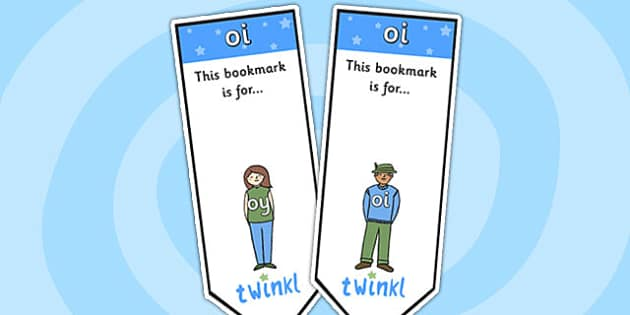 oi Sound Family Editable Bookmarks - oi sound family, editable bookmarks, bookmarks, editable, behaviour management, classroom management, rewards, awards